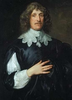 SIR BASIL DIXWELL: Portrait of the builder of Broome Park by Sir Anthony Van Dyck