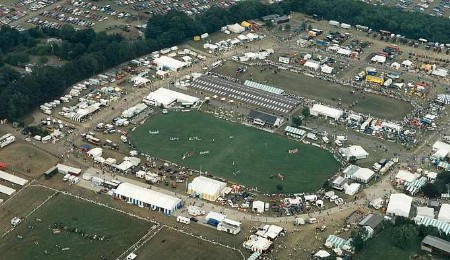 THE SHOWGROUND: all set for around 100,000 visitors