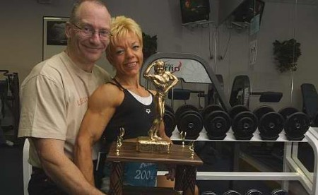 World crown for body builder carol for Streeter builders