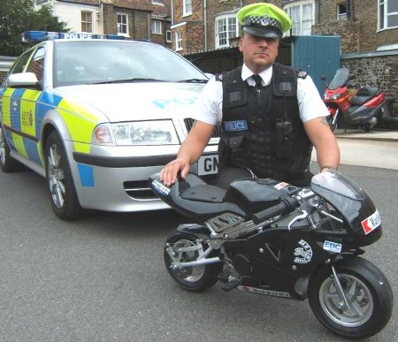 Police confiscation of mini motorbike advice please for Colorado motorized bicycle laws
