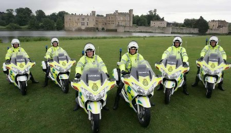 even faster response now from bike paramedics