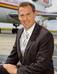 Matt Clarke, chief executive, of Kent International Airport. Picture: JEZ DURRANT