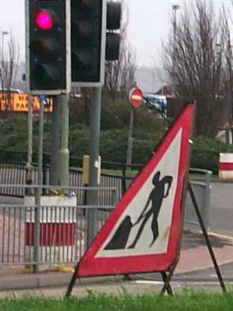 Delays expected on the A20