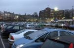 Maidstone East car park and station
