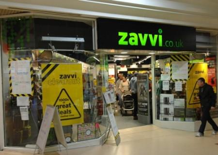 Zavvi - former store in the Pavilions from High Street, Bi