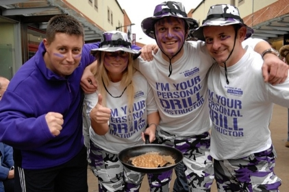 Pancake Racers Support The Heart Of Kent Hospice