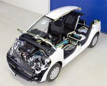 Compressed air hybrid Citroen C3 set for Geneva