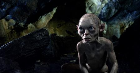Gollum voiced by Andy Serkis in The Hobbit: An Unexpected Journey. Picture: PA Photo/Warner Bros. Pictures