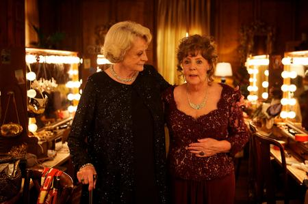 Quartet with Maggie Smith as Jean and Pauline Collins as Cissy. Picture: PA Photo/Momentum Pictures