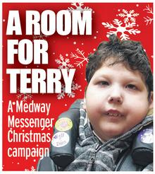 Medway Messenger Christmas appeal: A Room for Terry