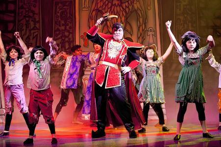 The cast of Aladdin, Orchard Theatre