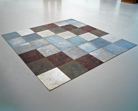 Carl Andre's Weathering Piece (1970) which will go on show at the Turner Contemporary Picture: Stichting Kröller-Müller Museum