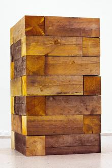 Carl Andre, Timber Piece. Picture: Carl Andre, DACS, London/AGA, New York 2012