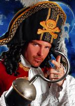 Vanilla Ice stars as Captain Hook in Peter Pan at Chatham's Central Theatre