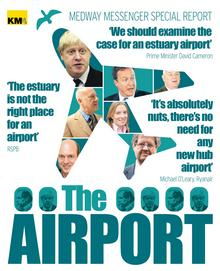 Cover for Medway Messenger special airport supplement