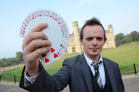 Richard Bellars, magician.