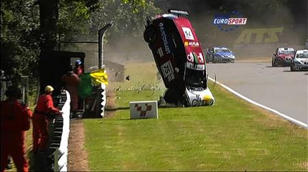 The horrific Brands Hatch car crash