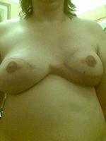 Mel (Melissa) Tullett has been banned from Facebook after posting images of her reconstructed breasts after having them removed due to having breast cancer.