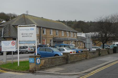 Buckland Hospital in Dover