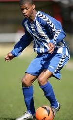 Ex Herne Bay striker Byron Walker