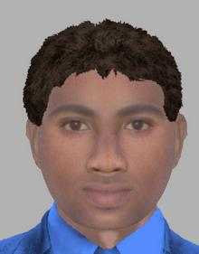 E-fit of man wanted by police after sex attack on woman in Canterbury.