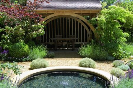 Roger Platts M&G Garden which won a gold medal at the Chelsea Flower Show 2010