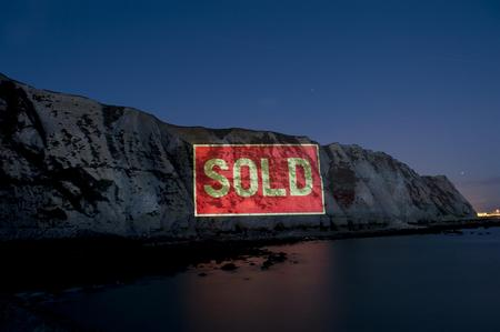 White Cliffs sold spoof