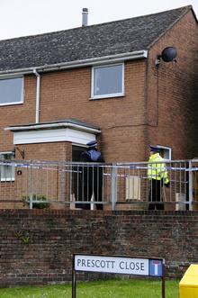 Dover murder scene