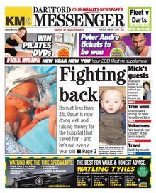 Dartford Messenger, Jan 3, 2013