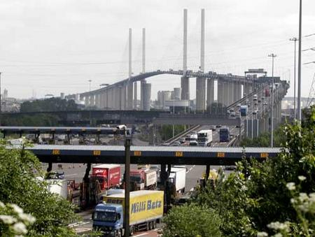 CROSSING DRIVERS DISABLED DARTFORD TOLL
