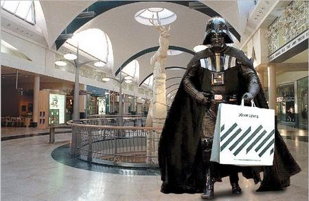 Darth Vader at Bluewater