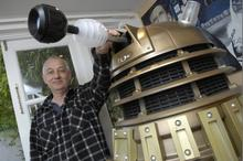 Tony Bannister, who has opened up a holiday cottage in Lydd dedicated to Doctor Who
