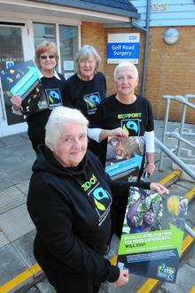 Fairtrade campaigners