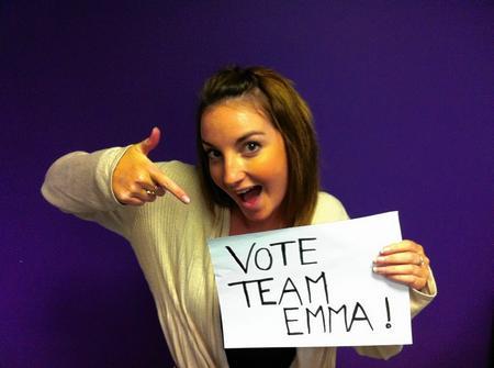 kmfm DJ Emma Saint