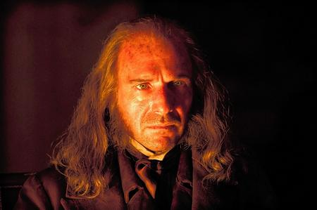 Ralph Feinnes as Abel Magwitch in Great Expectations
