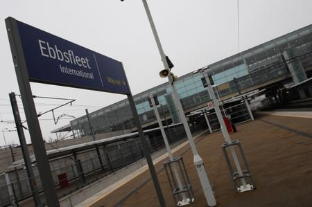 Ebbsfleet International train station