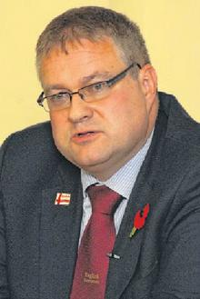 English Democrat Steve Uncles