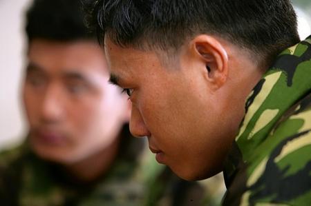 Sgt Dip Pun recalling his battlefield experience