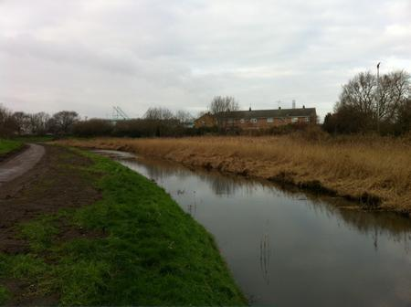 The Fleet canal looking much better after two weeks of clean-up work was carried out