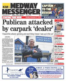Medway Messenger, Monday, November 12