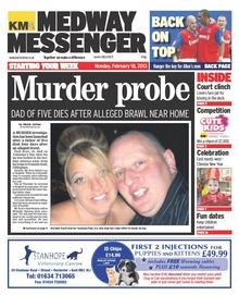 Medway Messenger, Monday, February 18