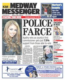 Medway Messenger, Monday. November 19