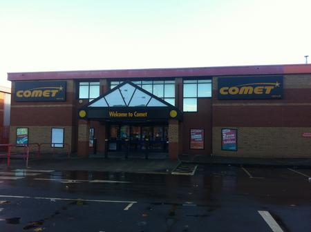 Comet in Gravesend