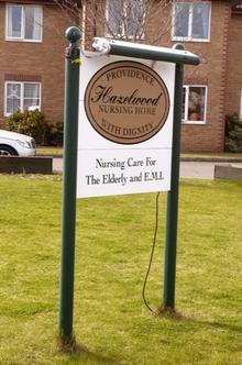 Hazelwood Nursing Home in Brickfield Road, Longfield