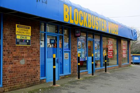 Blockbuster Video in West Street, Gravesend