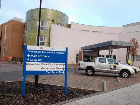 Gravesend Community Hospital.