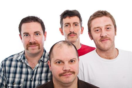 The facial fuzz efforts of Jason Patrick and the Kent Gringoes team for Movember