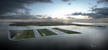 Engineers at Beckett Rankine have unveiled plans for a £39billion airport off the east Kent coast on Goodwin Sands