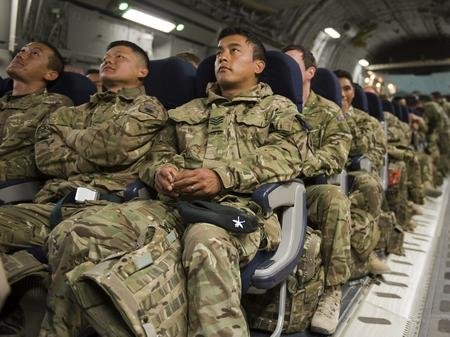 Gurkhas from B Company 1st Battalion The Royal Gurkha Rifles (1RGR) return home early to Kent as security in their area of Helmand Province is handed over to Afghan forces.