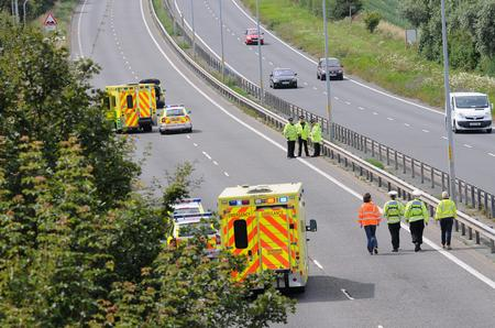Fatal crash on the A299 at Herne Bay.